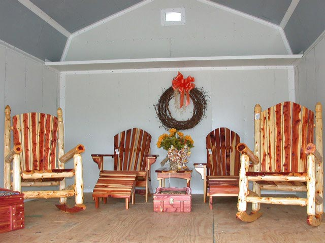 the porch furniture. Cedar Furniture Patio, Outdoors Or On The Porch. Long Lasting Beautiful  Cedar Country Charm Porch