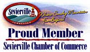 Sevierville Chamber of Commerce member.