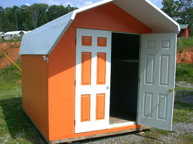Easily Paintable, Tennessee UT Colors On This Garden Shed.